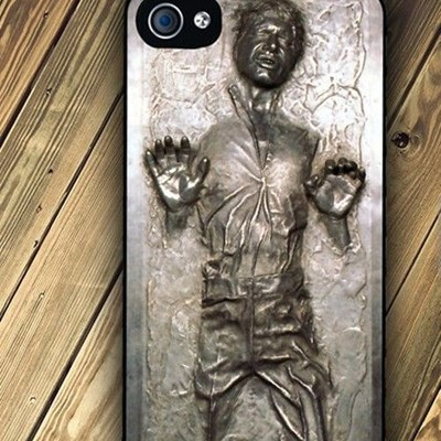 Han Solo frozen in carbonite iPhone case