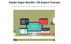 Techopedia Deals: Adobe Super Bundle: 130 Expert Courses