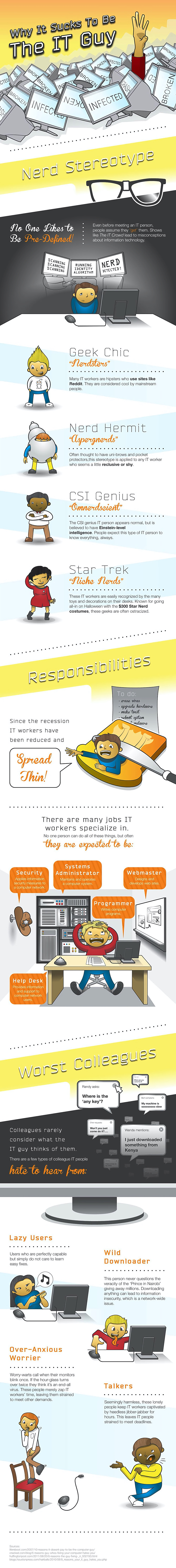 INFOGRAPHIC: Why It Sucks to Be the IT Guy
