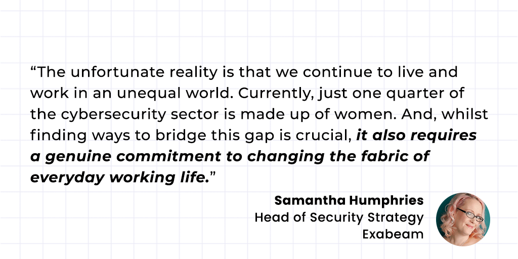 Samantha Humphries Exabeam Quote