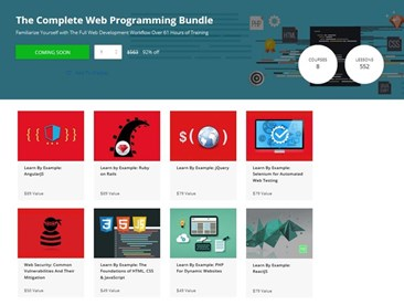Techopedia Deals: The Complete Web Programming Bundle
