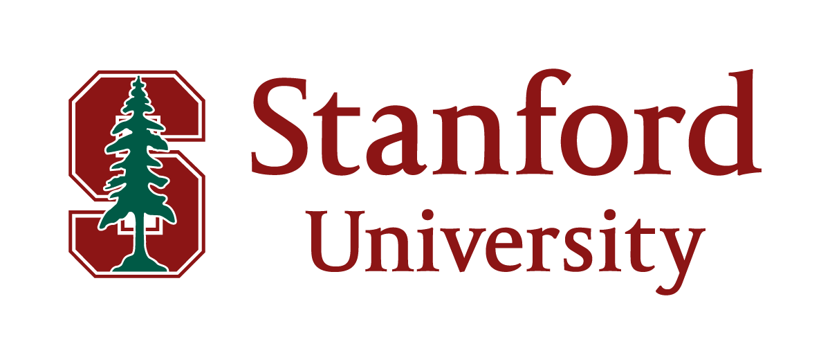 Stanford University logo with a pine tree