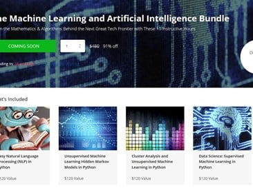 Techopedia Deals: Machine Learning and AI Bundle