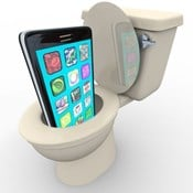 How to Fix A Phone That Drops In The Toilet