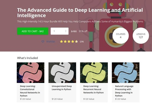 Techopedia Deals: The Advanced Guide to Deep Learning and Artificial Intelligence