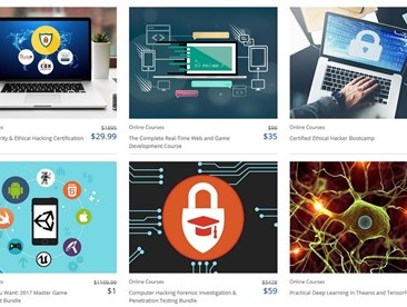Black Friday Roundup: The Complete Machine Learning Bundle, The Complete Web Developer Course 2.0, Become an Ethical Hacker Bonus Bundle