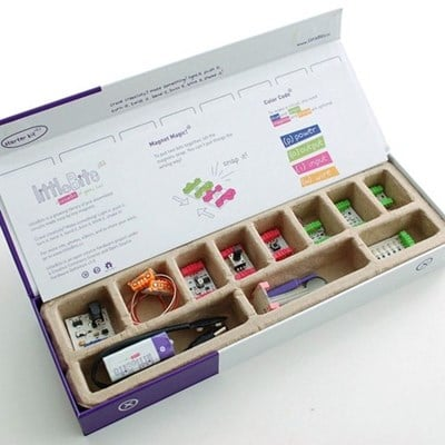 littleBits Starter Kit with magnetic electronic components