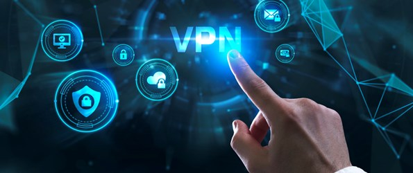 VPN network security internet privacy encryption concept