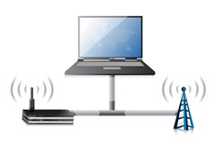 What performance issues do users face due to wireless interference problems in an enterprise setting?