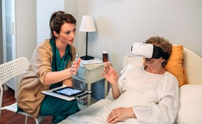 How is virtual reality going to improve senior care?