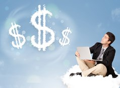 How can cloud computing save money?