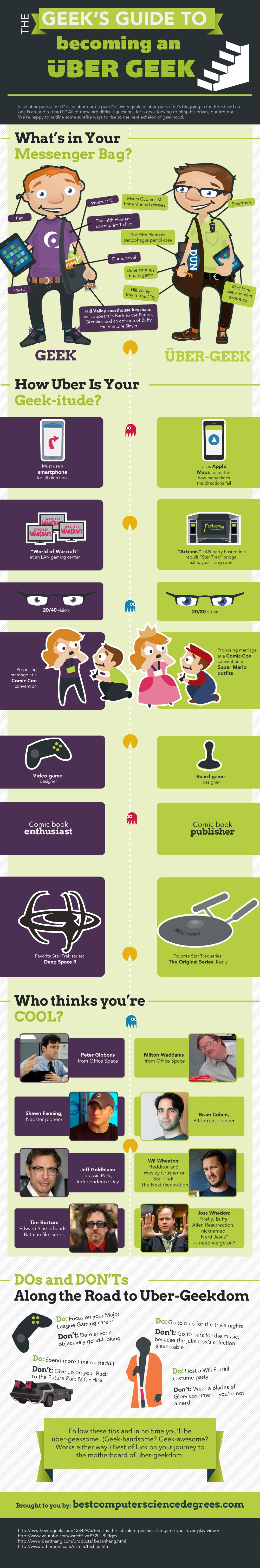 Infographic: The Geek's Guide to Becoming an Uber-Geek