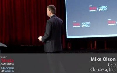 Video: Mike Olson, CEO of Cloudera, on Hadoop and Future Research Possibilities