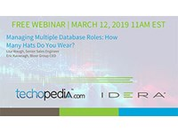 FREE WEBINAR | Managing Multiple Database Roles: How Many Hats Do You Wear?