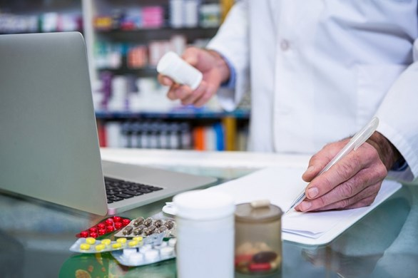 Countering Counterfeit Drugs with Blockchain