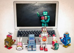 How are chatbots trained?