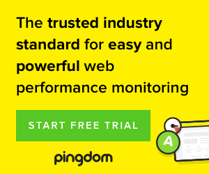 Pingdom - 30 day trial